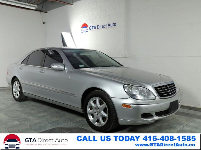 2004 Mercedes-Benz S-Class S550 4Matic Nav Sunroof Leather XenonPDC Certified