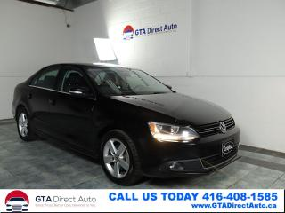 Used 2014 Volkswagen Jetta Comfortline TDI Sunroof 6-Speed Alloys Certified for sale in Toronto, ON