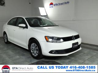 Used 2014 Volkswagen Jetta TRENDLINE+ TDI Heated Auto DSG Certified for sale in Toronto, ON