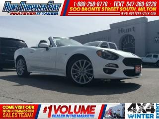 Used 2017 Fiat 124 Spider LUSSO | LEATHER | NAV | BOSE & MORE!!! for sale in Milton, ON