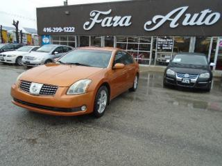 Used 2004 Nissan Maxima 3.5 SE for sale in Scarborough, ON