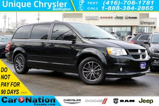 Used 2017 Dodge Grand Caravan SXT PREMIUM PLUS| NAV| DVD|TOW PKG for sale in Burlington, ON