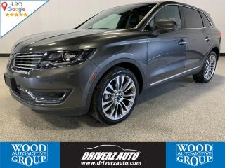 Used 2018 Lincoln MKX Reserve 2.7L ECOBOOST, ADAPTIVE CRUISE, TOW PACKAGE for sale in Calgary, AB