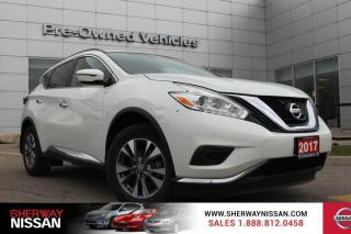 Used 2017 Nissan Murano S Low km trade> Nissan certified preowned! for sale in Toronto, ON