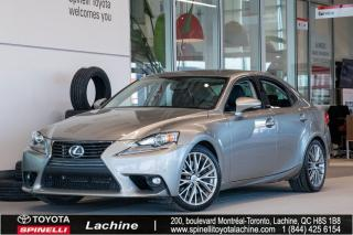 Used 2016 Lexus IS 300 AWD for sale in Lachine, QC