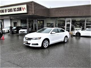 Used 2018 Chevrolet Impala LT 3.6L V6 for sale in Langley, BC