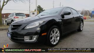 Used 2010 Mazda MAZDA6 GT|LOW KM|LEATHER|SUNROOF|ALLOY|PUSH START|BT|HEAT for sale in Oakville, ON
