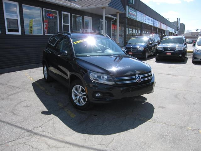 2015 Volkswagen Tiguan TRENDLINE .... HEATED SEATS, Cruise Control, All Wheel