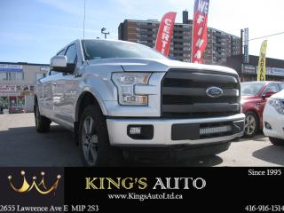 Used 2016 Ford F-150 Lariat for sale in Scarborough, ON
