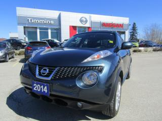 Used 2014 Nissan Juke SL for sale in Timmins, ON
