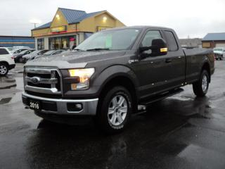 Used 2016 Ford F-150 XLT SuperCab 4X4 5.0L 8ft Box for sale in Brantford, ON