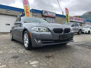 Used 2011 BMW 5 Series NAVI/SUNROOF/LEATHER/BLUETOOTH/AWD/WARRANTY for sale in Oakville, ON