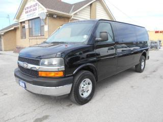Used 2010 Chevrolet Express 3500 DIESEL Extended Cargo Loaded Certified ONLY 131Km for sale in Etobicoke, ON