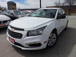 Used 2015 Chevrolet Cruze *NO ACCIDENTS* CLEAN CARFAX for sale in BRAMPTON, ON