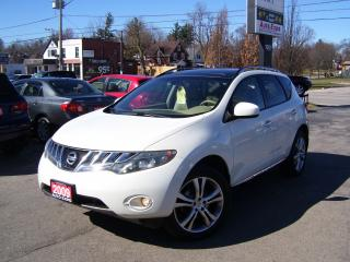 Used 2009 Nissan Murano LE,AWD,LEATHER,SUNROOF,NO ACCIDENT,BLUETOOTH,FOGS for sale in Kitchener, ON