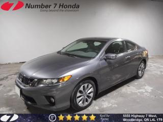 Used 2014 Honda Accord EX-L Navi, Leather, Loaded! for sale in Woodbridge, ON