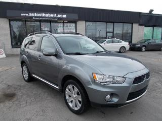 Used 2013 Mitsubishi Outlander XLS AWD ** 7 PLACES+CUIR+TOIT** for sale in St-Hubert, QC