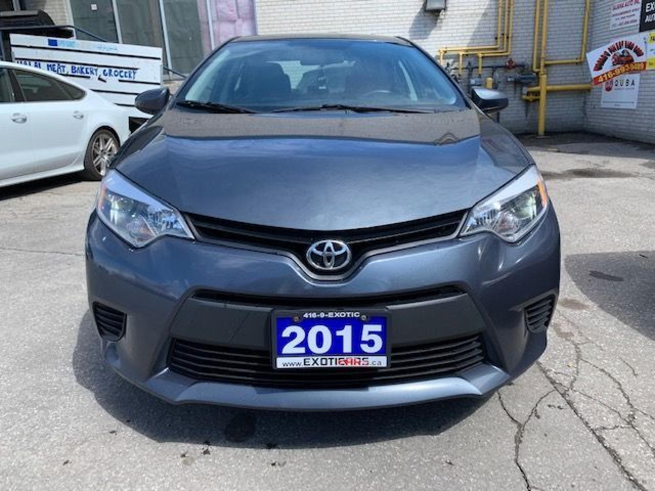 Photo of Grey 2015 Toyota Corolla