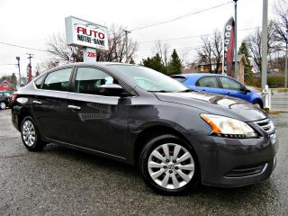 Used 2014 Nissan Sentra S -- BLUETOOTH -AUTOMATIQUE - SIEGES CHA for sale in Repentigny, QC
