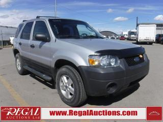 Used 2006 Ford Escape 4D Utility AWD for sale in Calgary, AB