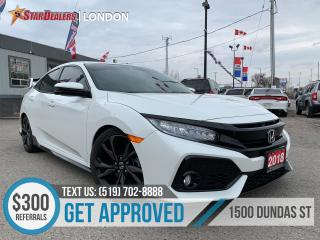 Used 2018 Honda Civic Sport Touring | NAV | LEATHER | ROOF | CAM for sale in London, ON