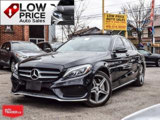 Used 2016 Mercedes-Benz C-Class AMGPKG*Navi*Camera*HtdSeats*BlindSpot* for sale in Toronto, ON