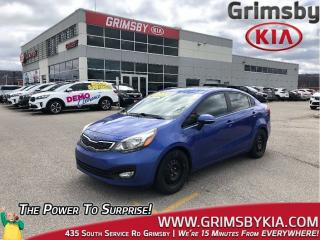 Used 2013 Kia Rio EX| Backup Cam| Heat Seat| Gas Saver! for sale in Grimsby, ON