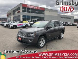 Used 2017 Jeep Compass High Altitude Edition| AWD| Bluetooth| Heat Seat for sale in Grimsby, ON