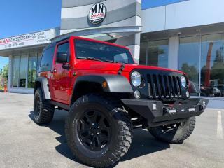 Used 2015 Jeep Wrangler WILLYS EDITION HARD-TOP A/C PWR GROUP LIFTED for sale in Langley, BC