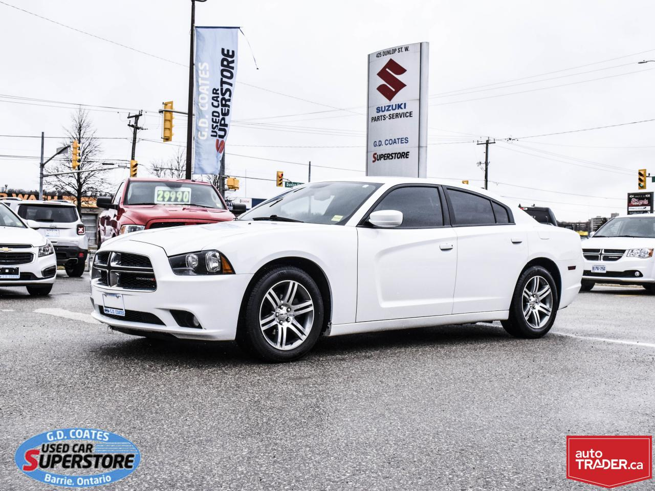 Used Tires Barrie >> Used 2014 Dodge Charger Sxt For Sale In Barrie Ontario