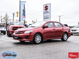 Used 2012 Toyota Corolla CE ~Heated Seats ~Power Windows + Locks for sale in Barrie, ON