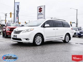 Used 2011 Toyota Sienna Limited AWD ~7 Passenger ~Nav ~DVD ~Heated Leather for sale in Barrie, ON