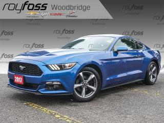 Used 2017 Ford Mustang 18 Alloys, Backup Cam, 6 Speed Manual! for sale in Woodbridge, ON