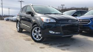 Used 2015 Ford Escape TITANIUM 2.0L ECO LEATHER HEATED SEATS NAVIGA... for sale in Midland, ON