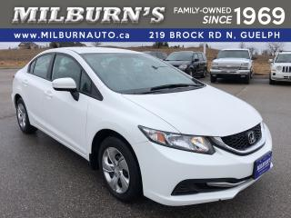 Used 2015 Honda Civic SEDAN LX for sale in Guelph, ON