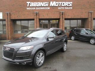 Used 2013 Audi Q7 PROGRESSIVE | TDI | NO ACCIDENTS | NAVIGATION | LEATHER | for sale in Mississauga, ON