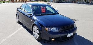 Used 2005 Audi S4 4dr Sdn quattro for sale in West Kelowna, BC