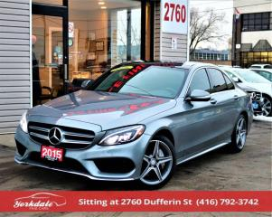 Used 2015 Mercedes-Benz C-Class C300 4M Pan Roof Navi Camera for sale in North York, ON