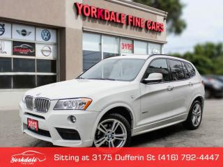 Used 2013 BMW X3 35I AWD PANORAMIC SUNROOF LEATHER NAVIGATION BACK UP CAMERA for sale in Toronto, ON