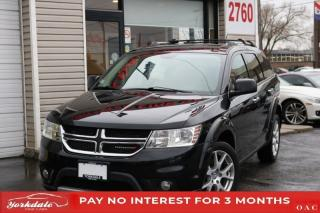 Used 2016 Dodge Journey AWD ALLOY RIMS LEATHER BLUETOOTH V6 for sale in Toronto, ON