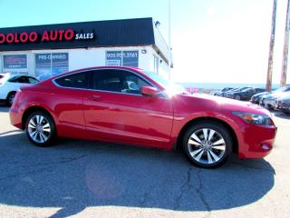 Used 2009 Honda Accord EX-L Coupe Automatic Leather Certified 2YR Warranty for sale in Milton, ON