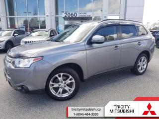Used 2014 Mitsubishi Outlander OUTLANDER SE  7 SEATS-SUNROOF for sale in Port Coquitlam, BC