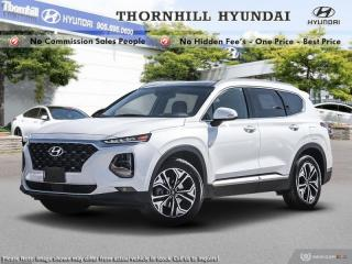 Used 2019 Hyundai Santa Fe 2.0T Ultimate AWD  - Navigation for sale in Thornhill, ON