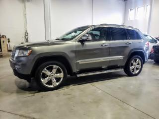 Used 2013 Jeep Grand Cherokee Overland for sale in St-Eustache, QC