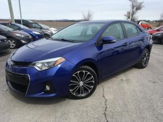 Used 2014 Toyota Corolla S for sale in Carignan, QC
