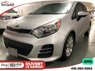Used 2016 Kia Rio Ex+ A/c for sale in Québec, QC