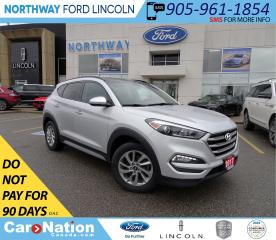 Used 2017 Hyundai Tucson SE | AWD | HTD PWR LEATHER | PANO ROOF | for sale in Brantford, ON
