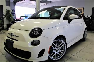 Used 2014 Fiat 500 C Abarth $98.86 BI WEEKLY! $O DOWN! RARE GQ EDITION!! CONVERTIBLE for sale in Bolton, ON