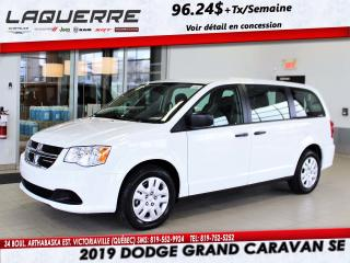 Used 2019 Dodge Grand Caravan SE for sale in Victoriaville, QC