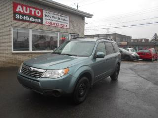 Used 2009 Subaru Forester AWD for sale in St-Hubert, QC